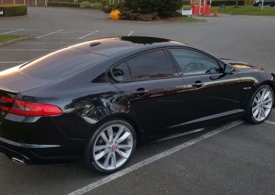 jaguar xf after