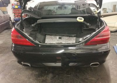 merc sl before